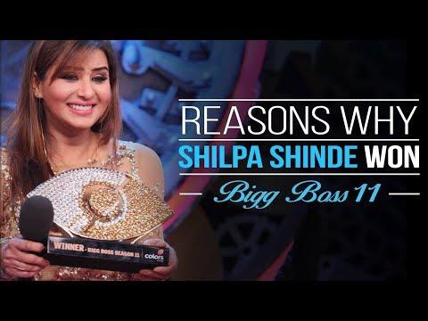 Reasons Why Shilpa Shinde Won Bigg Boss 11 | Bollywood Everywhere