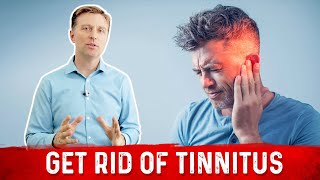 How to Stop Tinnitus (Ringing in the Ears) | Dr. Berg