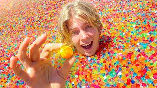 First to Find the GOLD Ball inside 50,000,000 ORBEEZ! *IMPOSSIBLE ODDS*