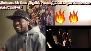 Eminem - No Love (Explicit Version) ft. Lil Wayne MUSIC VIDEO REACTION!!!