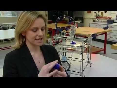 Tehnologie printer 3D  - prezentare BBC NEWS