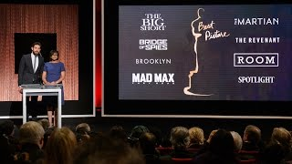 Oscar Nominations 2016: Full Show On Demand