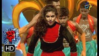 Aqsa Khan Performance   Dhee 10    20th June 2018   ETV Telugu