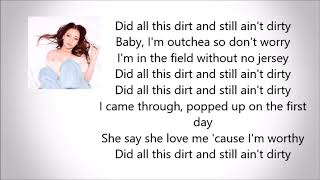 "BHAD BHABIE - ""Mama Don't Worry (Still Ain't Dirty)"" (Official Lyrics)"
