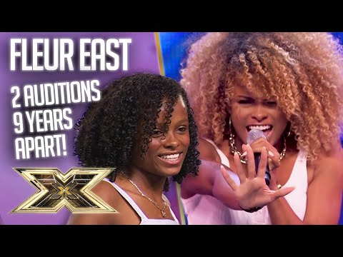 Fleur East's GLOW UP! 2 auditions, 9 years apart! | The X Factor UK