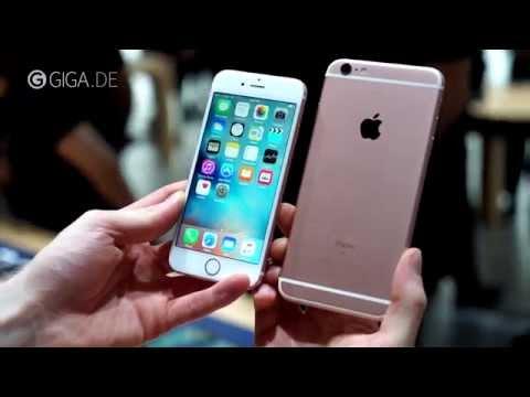 iPhone 6s & iPhone 6s Plus - Hands-On (deutsch) - GIGA.DE