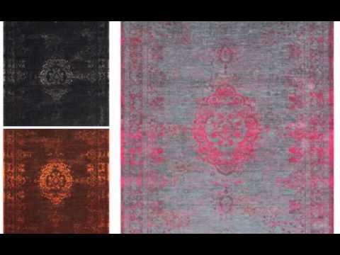Orientteppich Vintage-Teppich gefärbt gewebt www.Musterkollektion.de