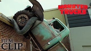 MONSTER TRUCKS | Driving on the Roof | Official Film Clip