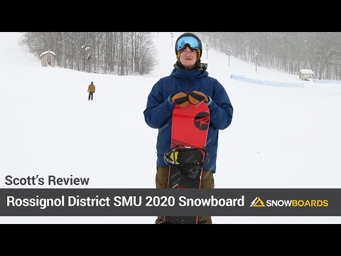 Video: Rossignol District SMU Snowboard 2020 18 40