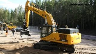 Great test of the LiuGong 930E excavator was made in Finland by