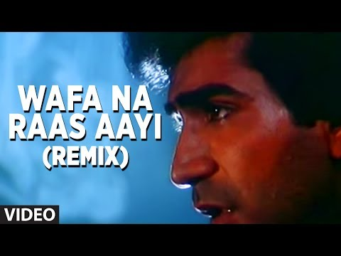 Download Wafa Na Raas Aayi Remix - Sad Indian Songs Bewafa Sanam | Nitin Mukesh Hits HD Mp4 3GP Video and MP3