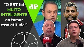 O jogo do Flamengo vai bater a Globo? 'SBT foi muito inteligente ao fazer isso!'