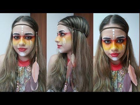 Fácil Maquillaje para Halloween India - Halloween Makeup Indian - Belleza sin Limites