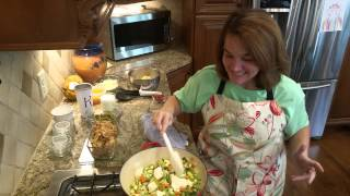 Low Carb Comfort Food:  Chicken Pot Pie!