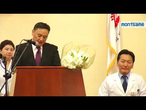 Surgeon J.Chinburen returns from France