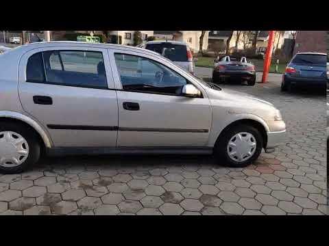 Video Opel Astra G Lim. Edition 100. 4 türig,Klima,TÜV NEU.