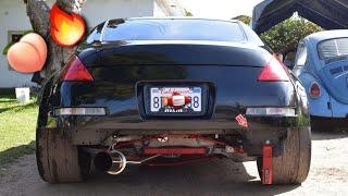 The REAL 350z Bumper Cut !!