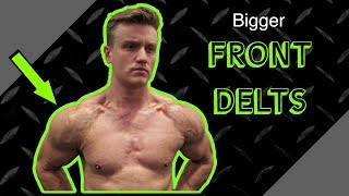 Intense Front Delt Shoulder Finisher Routine | Anabolic Superset by Anabolic Aliens