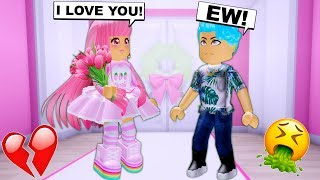 She Got Rejected By Her CRUSH Infront Of EVERYONE! (Roblox)