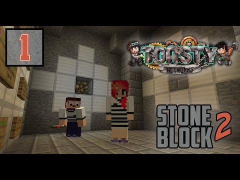 Stoneblock 2 Ep 2: Animals & Lava Chicken | Modded Minecraft