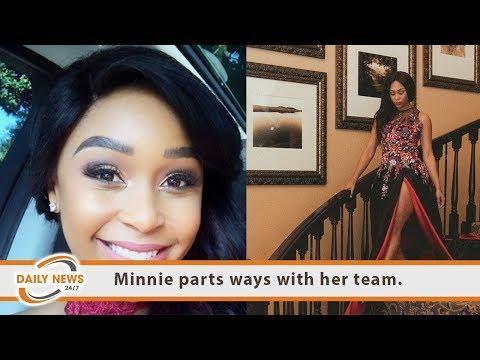 Minnie Dlamini parts ways with her team.