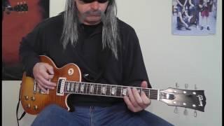 AC/DC - Burnin' Alive - Guitar Cover