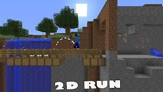 Minecraft : 2D RUN วิ่ง Parkour เก็บเหรียญแบบ 2D