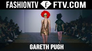 Gareth Pugh Spring/Summer 2016 At London Fashion Week | FTV.com