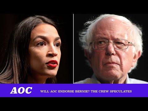 Will AOC Endorse Bernie? The Crew Speculates. ft. Bhaskar Sunkara & Napoleon Da Legend (TMBS 105)