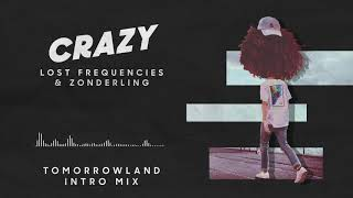 Lost Frequencies   Crazy Tomorrowland Intro Mix