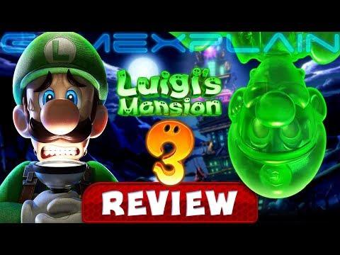 Luigi's Mansion 3 - REVIEW (Nintendo Switch) - YouTube video thumbnail