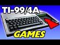 Playing Ti 99 Computer Games