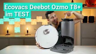 Ecovacs Deebot Ozmo T8+ im Test - Der Saugroboter mit der BESTEN HINDERNISERKENNUNG!