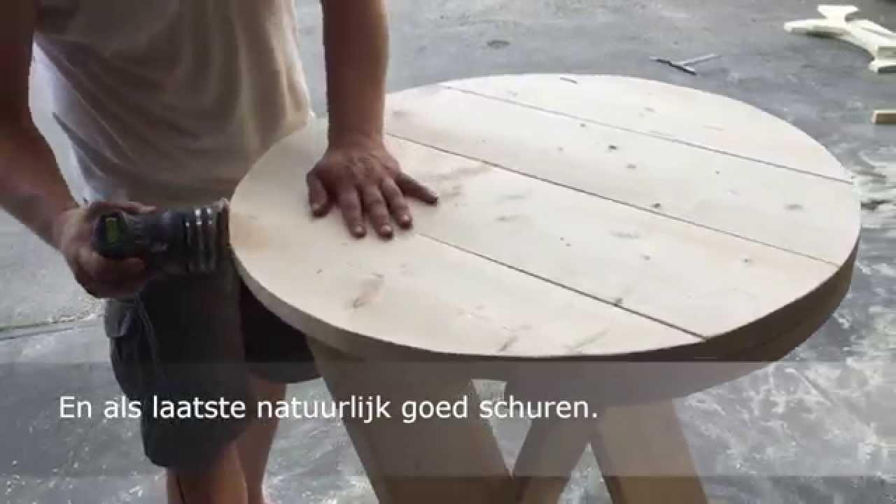 Beste Inklapbare statafel (van steigerhout) | voordemakers.nl HY-24
