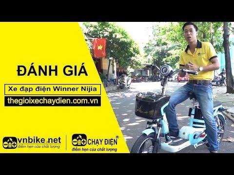 Đánh giá xe đạp điện Winner Nijia
