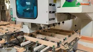 Máy khoan, làm mộng âm CNC chuyền hàng Bedroom | WM-5X2CNC