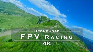 FPV Racing drone footage