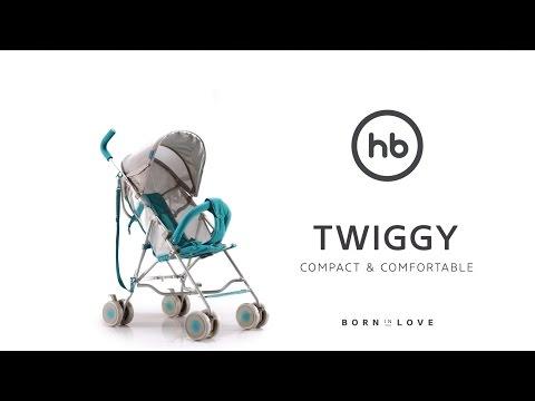 Коляска прогулочная Happy Baby Twiggy (marine)