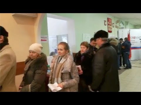 CGTN on the scene: Russian voters head to polls in presidential election