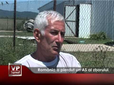 România a pierdut un AS al zborului