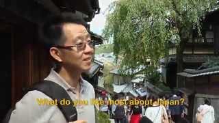 Travelers' Voice of Kyoto: KIYOMIZU DERA Area Interview013 Autumn06