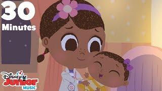 Rock-a-bye Baby (30 Minute Version)  🍼  | 🎼  Disney Junior Music Nursery Rhymes | Disney Junior