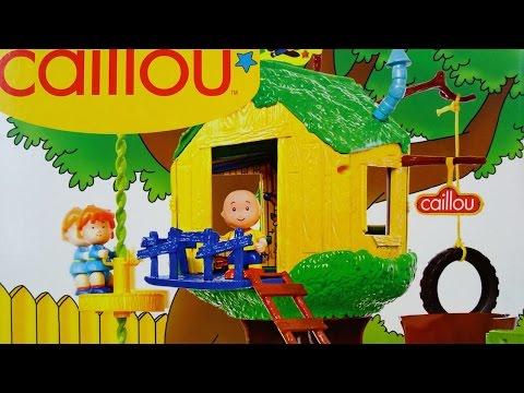 Caillou La Casa del Arbol Caillou Treehouse - Juguetes de Caillou