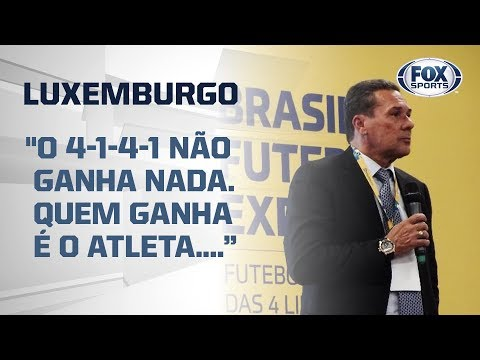 PROFEXÔ PROFEXORANDO! Veja palestra de Vanderlei Luxemburgo no Brasil Futebol Expo ao vivo!