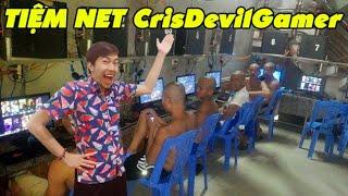 CrisDevilGamer MỞ TIỆM NET
