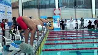 Заплыв Коротышкина на Кубке Сальникова
