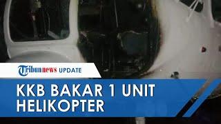 KKB Bakar 1 Unit Helikopter di Bandara Ilaga, Kapolda Papua: Mereka Mau Mengganggu Penerbangan