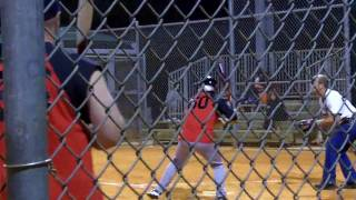 Jose Canseco Jeff Hall Home Run Derby Softball Fans