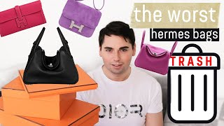 NEVER BUYING AN HERMES LINDY!! | The WORST HERMES Luxury Bags..Dont Waste Your Money