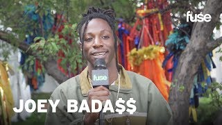 Joey Bada$$ On All-Amerikkkan Bada$$ & Aaron Rose's New EP | Lollapalooza 2017